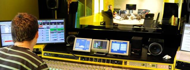 Les studios de France Info à Radio France