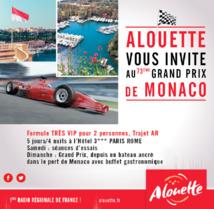 Alouette en pole position à Monaco