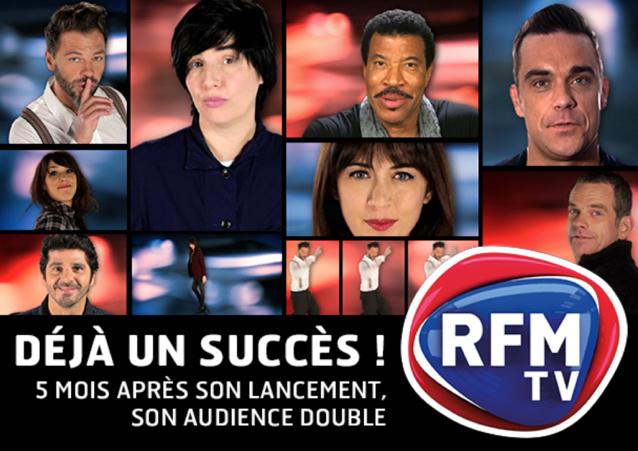 RFM TV est la 2e chaine musicale la plus regardée