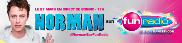 Normam prend le contrôle de Fun radio