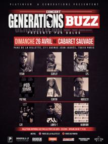 Generations amène le buzz sur scène