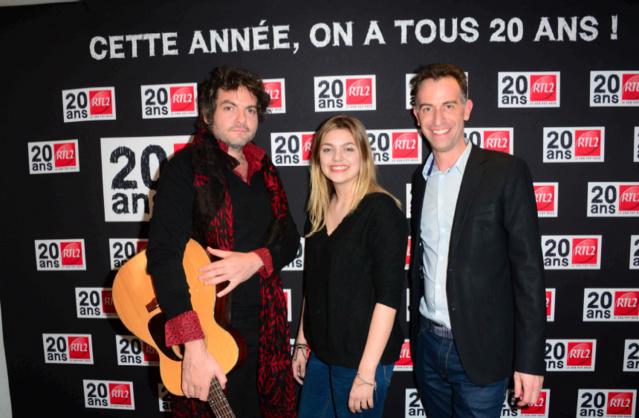 Tristan Jurgensen (à droite), le directeur des Musicales de RTL Group @ Laurent Benhamou - Agence SIPA