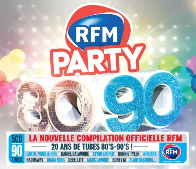 Le Coffret RFM Party 80-90 sort le 13 avril
