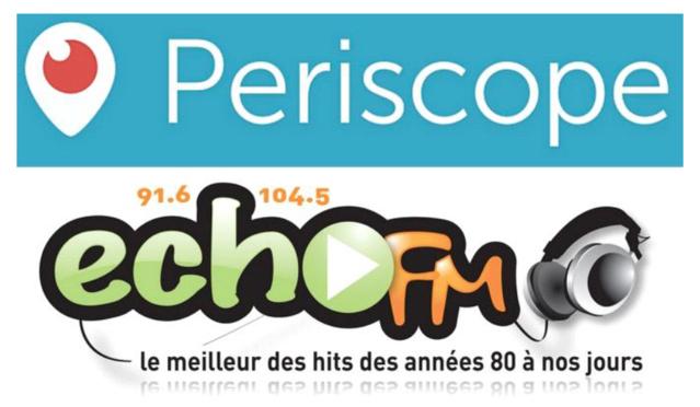Echo FM expérimente l'application Périscope