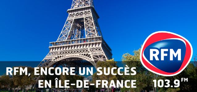 331 000 auditeurs franciliens pour RFM