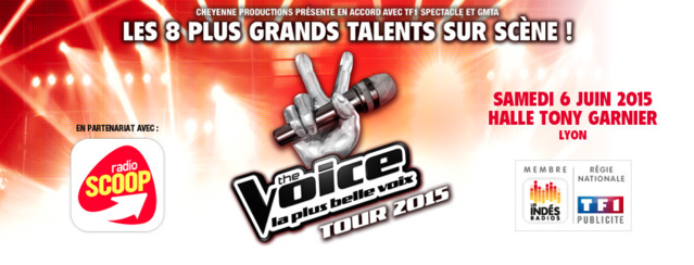 The Voice Tour avec Radio Scoop