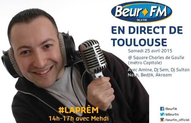 Beur FM se délocalise à Toulouse