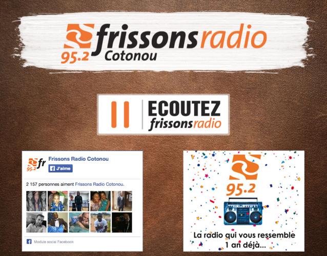 Groupe 1981 : Frissons Radio fête ses un an au Bénin