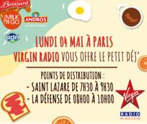 Virgin Radio offre 1 000 petits-déjeuners
