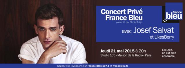 Nouveau Concert Privé à France Bleu