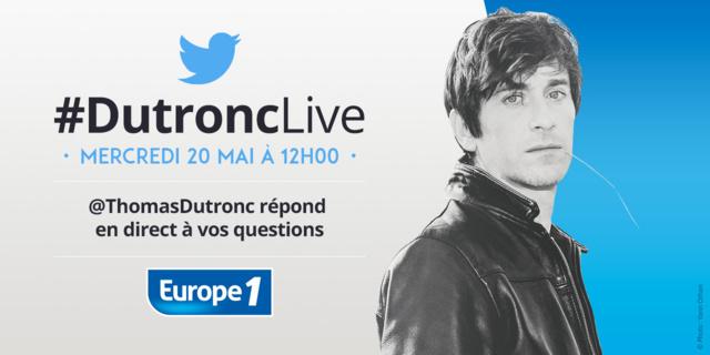 Europe 1 : Thomas Dutronc très digital avec les auditeurs