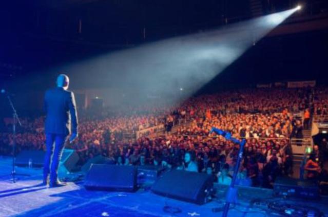 Des milliers d'auditeurs sont attendus ce soir au Zénith de Paris © Grégory Jacquier Capa Pictures pour Europe 1