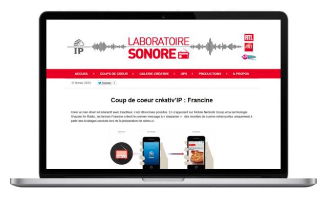 IP France lance un blog dédié à la pub radio