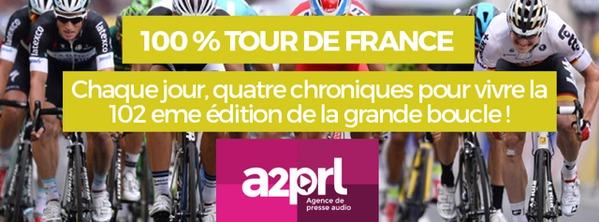 100% Tour de France avec A2PRL