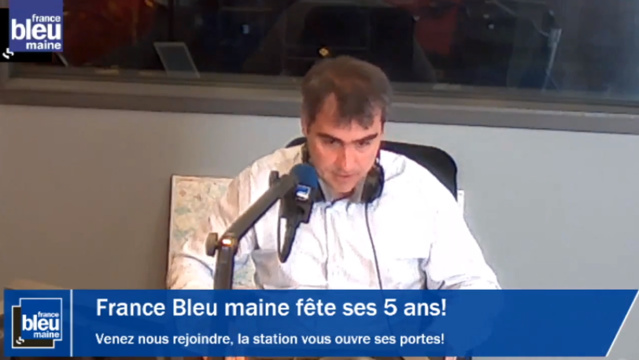 France Bleu Maine diffuse en Streaming Vidéo