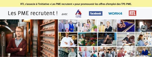 RTL confirme son rôle citoyen sur l'emploi