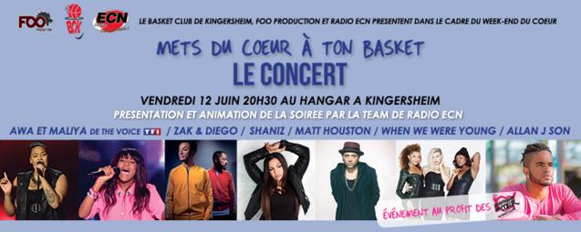 """Mets Du Coeur A Ton Basket"" avec Radio ECN"