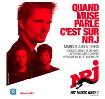 """Muse """"en exclusivité mondiale"""" sur NRJ"""