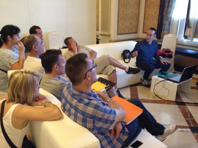 Mieux comprendre et analyser son audience, avec les bons outils: le workshop de Romain Dervaux a fait le plein.