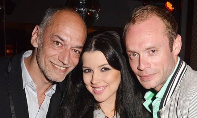 Guillaume Aubert, Pauline Maserati et Julien Le Stum au Chacha Club lors d'un coup de coeur de l'animateur de RFM