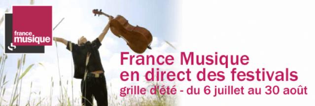 France Musique en direct des festivals