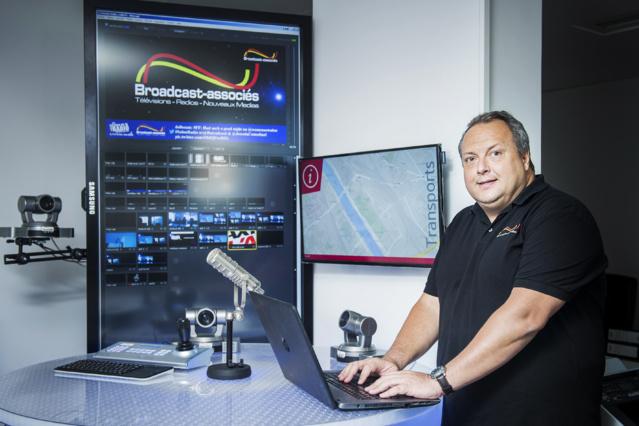 Fabrice Gauthier est le directeur général de Broadcast-associés