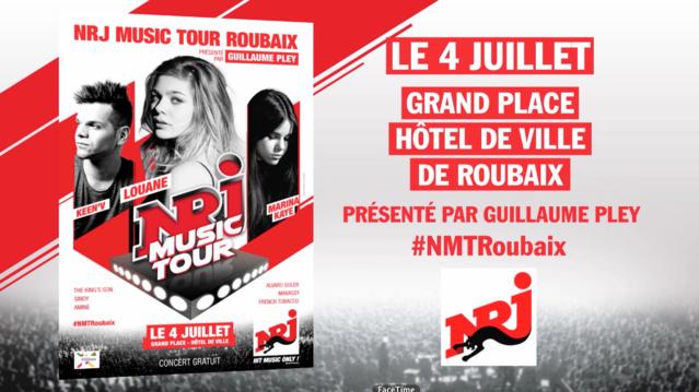 NRJ Music Tour à Roubaix