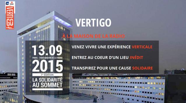 Vertigo : une course verticale à la Maison de la radio