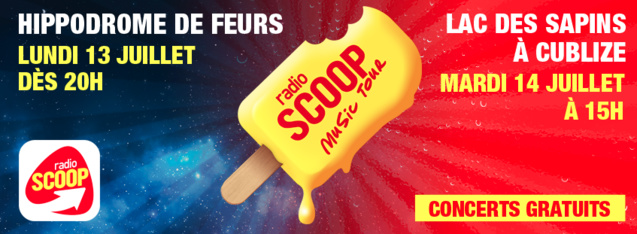 40 000 spectateurs attendus au Scoop Music Tour