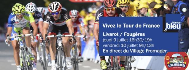 Le Tour de France sur France Bleu Basse-Normandie