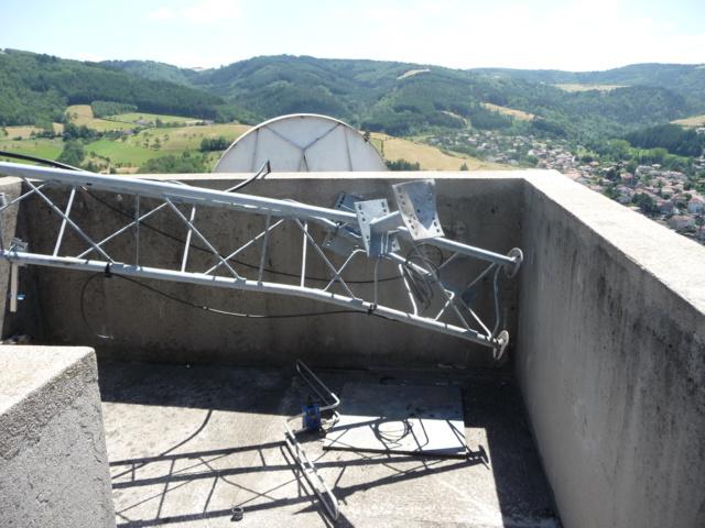 Une tornade emporte l'émetteur de Radio Ondaine