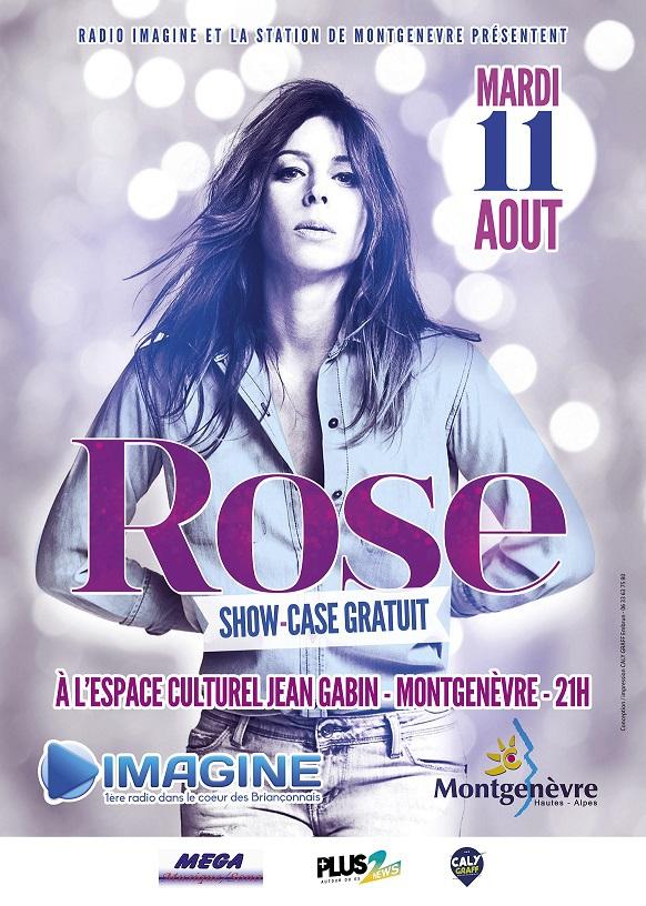 Show case d'été pour Radio Imagine avec Rose