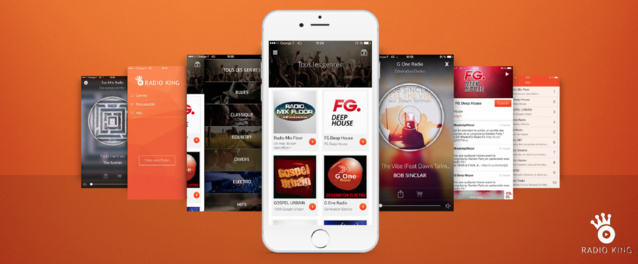 Radio King lance son application mobile