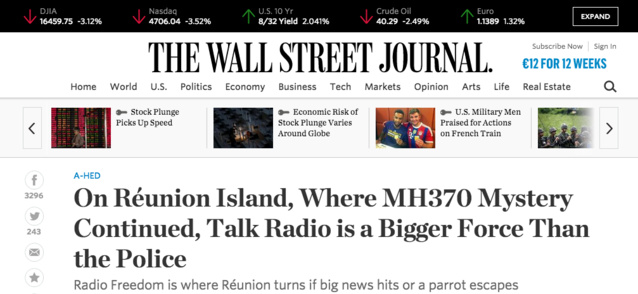 Quand les consultants US s'intéressent à Radio Freedom
