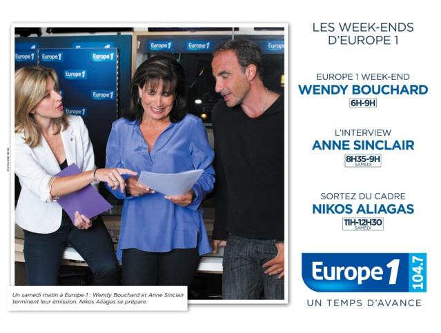 Nikos signe la campagne de rentrée d'Europe 1