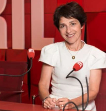 Elizabeth Martichoux, la chef du service politique de RTL