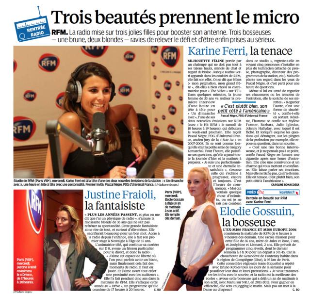 """Les trois """"beautés"""" de RFM"""