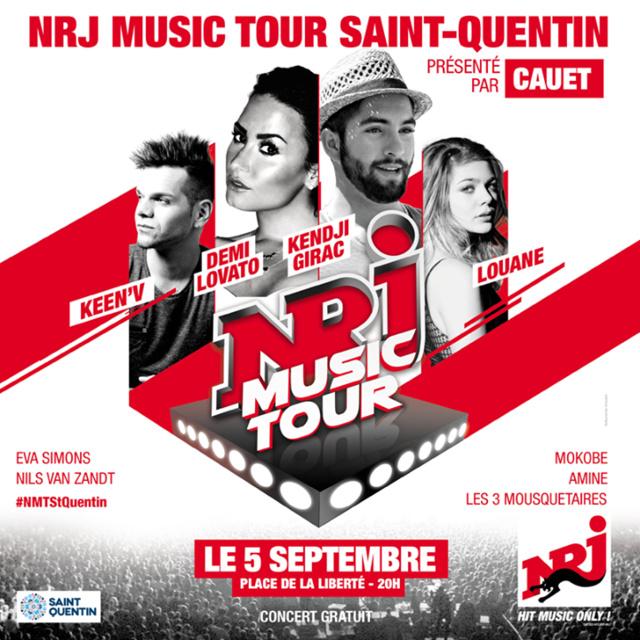 Le NRJ Music Tour fait étape à Saint-Quentin