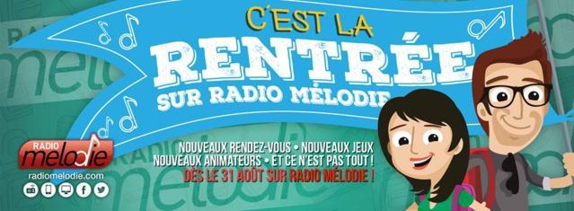 Radio Mélodie donne le tempo