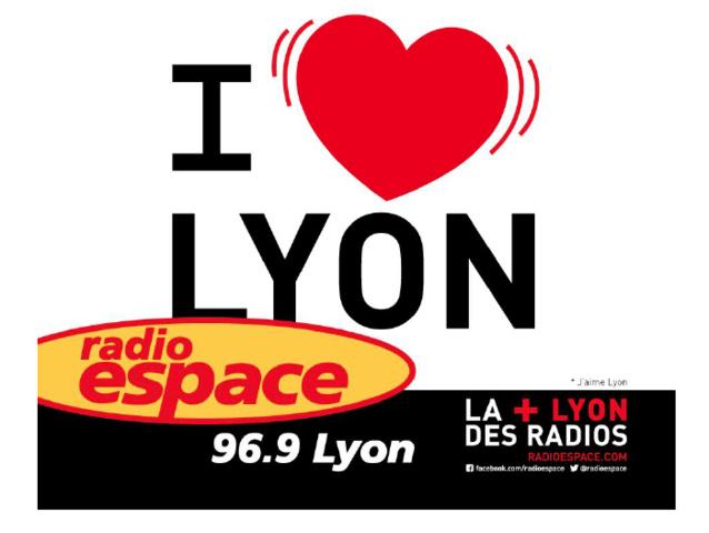 Radio Espace s'affiche dans le Grand Lyon