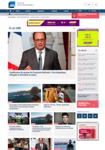 Le nouveau site de France Bleu est en ligne depuis ce lundi matin