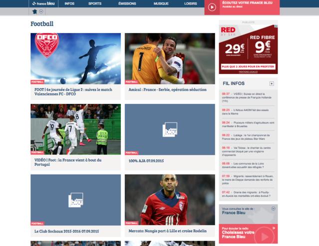 France Bleu a mis en ligne son nouveau site