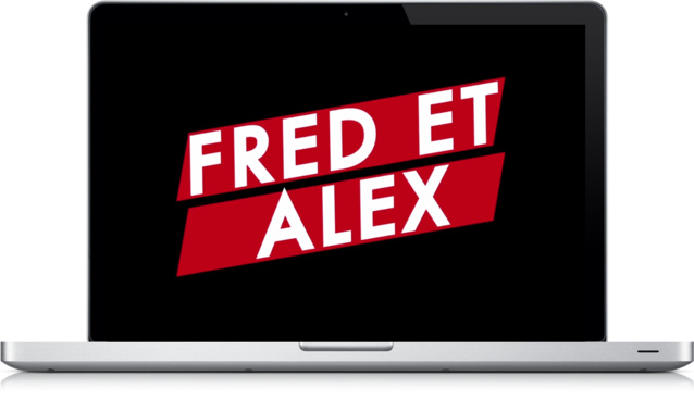 """Le teaser et les trois épisodes sont à découvrir sur la page Facebook """"Fred et Alex"""", ainsi que sur le Tumblr du Laboratoire Sonore"""