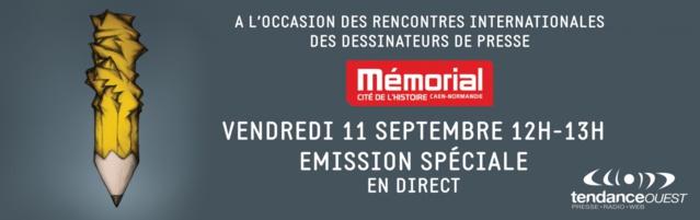 Tendance Ouest en direct du Mémorial de Caen