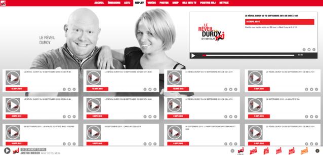 NRJ Belgique dévoile son nouveau site web