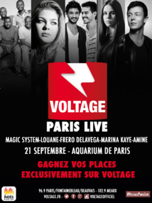 "Voltage prépare son ""Voltage Paris Live"""