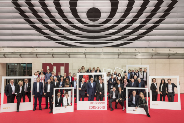 L'équipe de RTL pour la nouvelle saison 2015-2016 © Nicolas Gouhier/Philippe Montigny Abaca Press