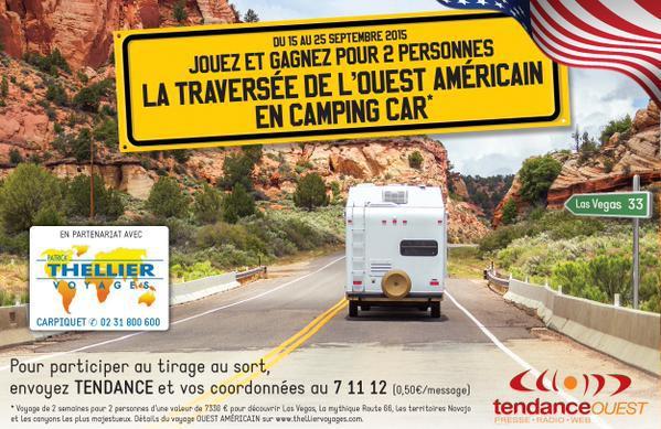Tendance Ouest offre un road trip aux USA