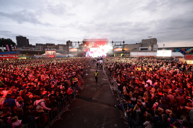 Gros succès pour NRJ in the Park à Charleroi