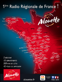 Alouette franchit, encore, le point national